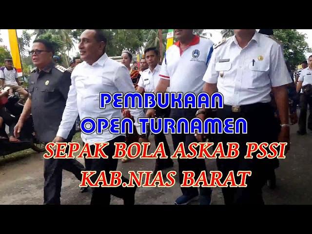 OPEN TURNAMEN  ASKAB PSSI KAB. NIAS BARAT 2018