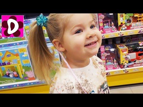 Диана и Мама в МАГАЗИНЕ ИГРУШЕК Покупаем Куклы Аниме Видео для Детей Новая Кукла Shibajuku Girl Влог