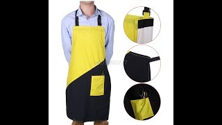 Unpacking Aprons Yelow+Black