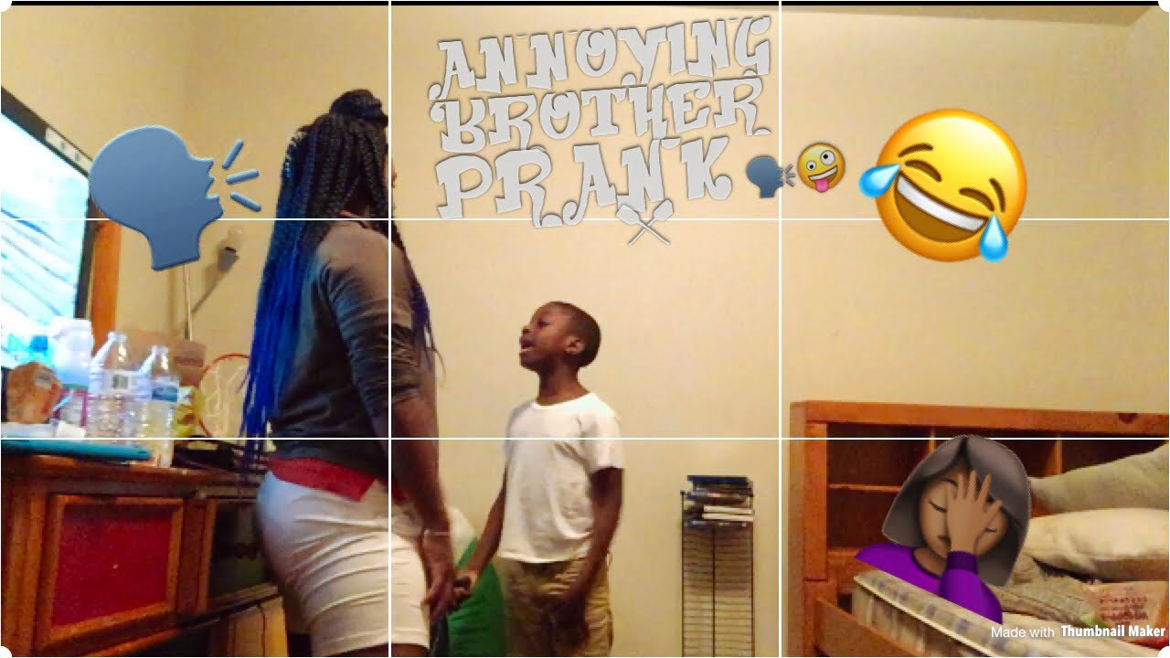 Annoying Brother Prank 😂‼ - YouTube