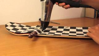 HD: How to remove griptape from skateboard/longboard~Timewarp (Canon 550d)