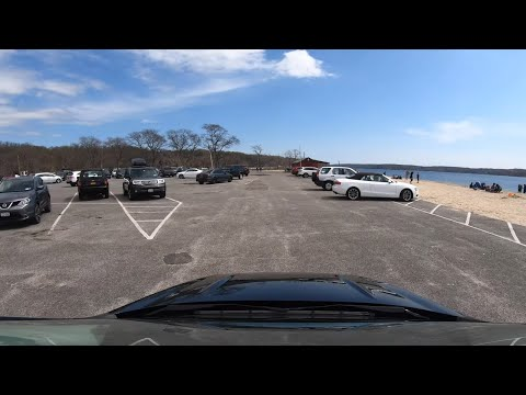⁴ᴷ⁶⁰ NY State Of Emergency : Driving Lloyd Harbor, Suffolk, Long Island (April 25, 2020)