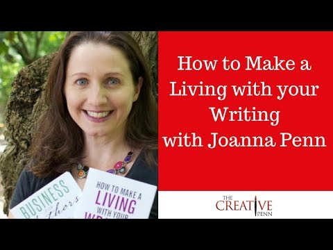How to make a living with your writing. Indie Recon conferen