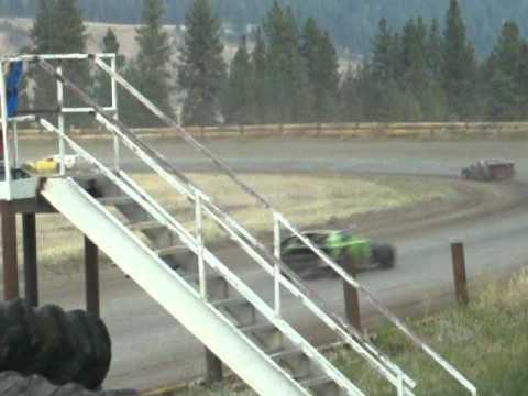 Eagle Track Raceway Modified Main Event Part 2 Aug 9th 2014