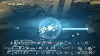 [MGSV:Phantom Pain] Backup, Backdown 6 Prisoners 4 Soldiers
