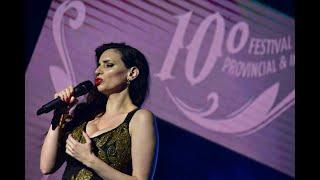 Ana Fontán en el 10mo. Festival Provincial e Internacional del Tango Zárate. Concierto Piazzolla.