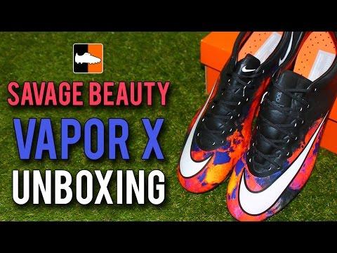 CR7 'Savage Beauty' Nike Vapor X Unboxing - Cristiano Ronaldo Mercurial Boots