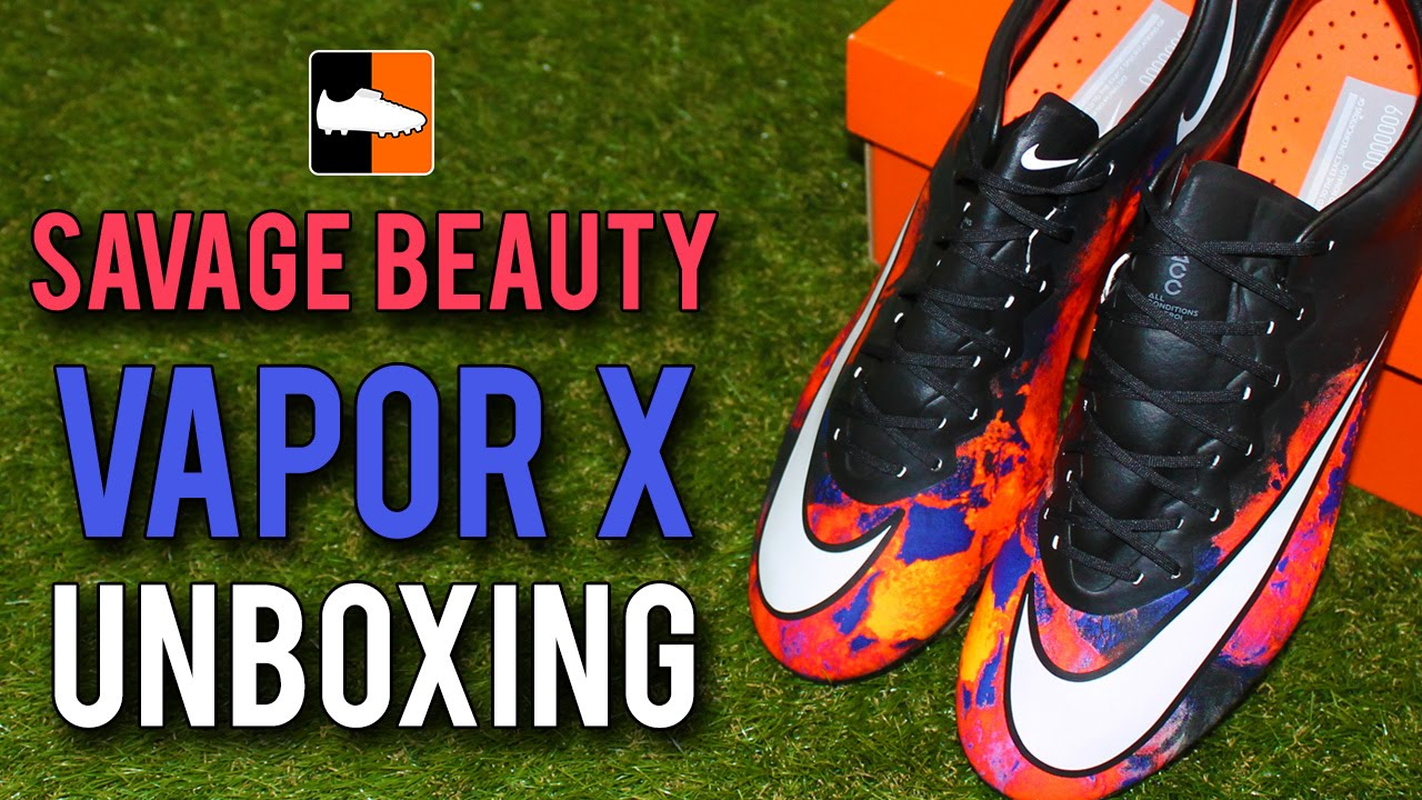 5815bdfa3 CR7  Savage Beauty  Nike Vapor X Unboxing - Cristiano Ronaldo ...