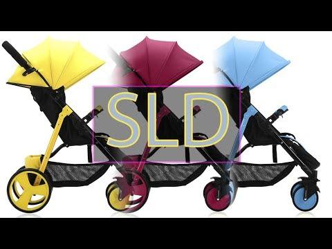 SLD Детская Прогулочная Коляска (Комплектация, Сборка, Проверка качества)