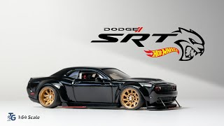 Dodge Challenger SRT Hellcat Custom Hot Wheels