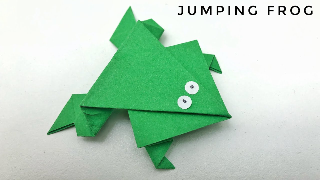 Origami Jumping Frog - 108