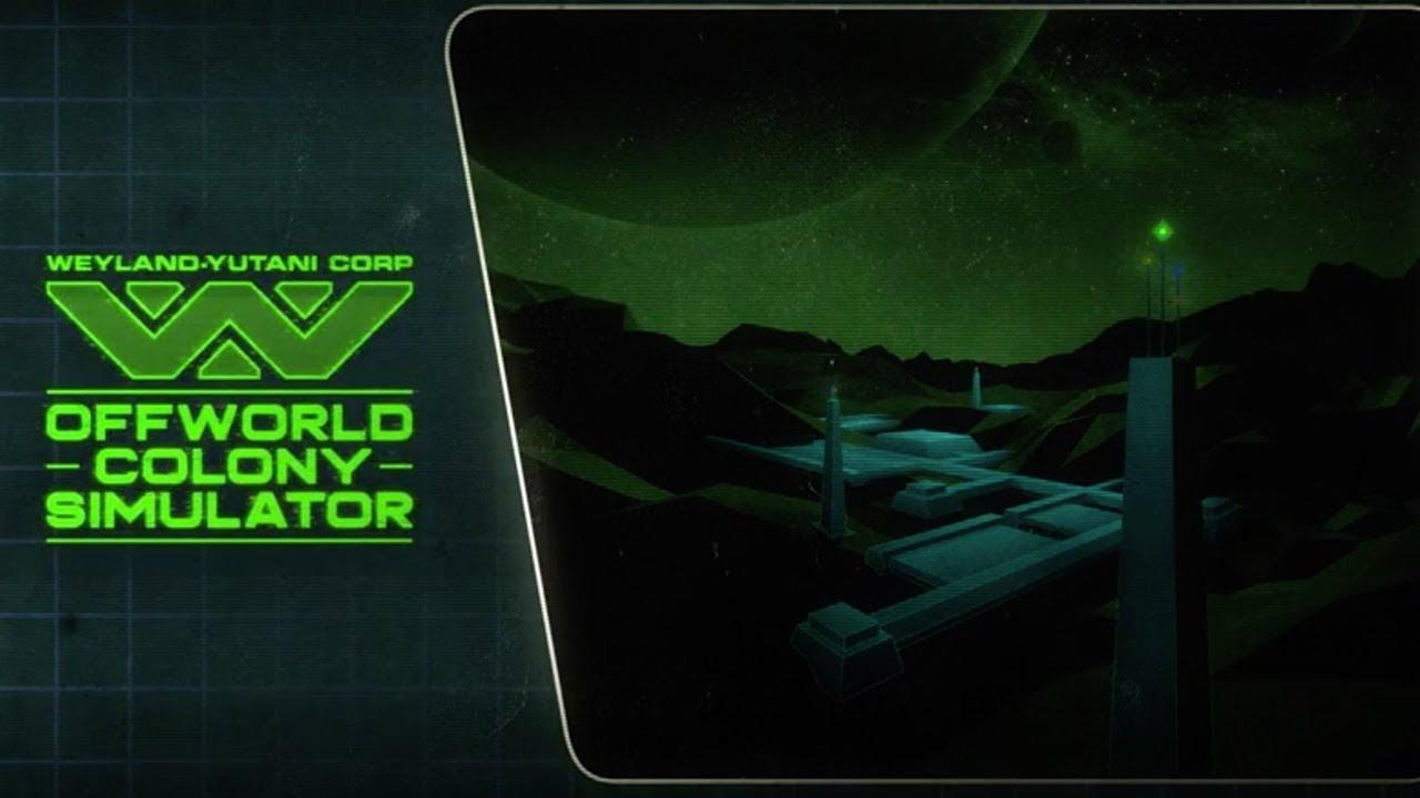 The Alien Offworld Colony Simulator | ALIEN ANTHOLOGY