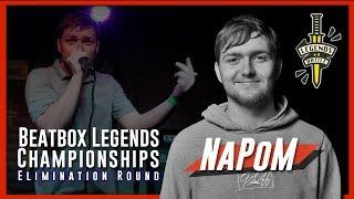 Napom Beatbox Legends Championship 2019 Elimination Round