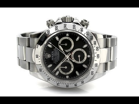Rolex Oyster Perpetual Cosmograph Daytona 116520 Youtube