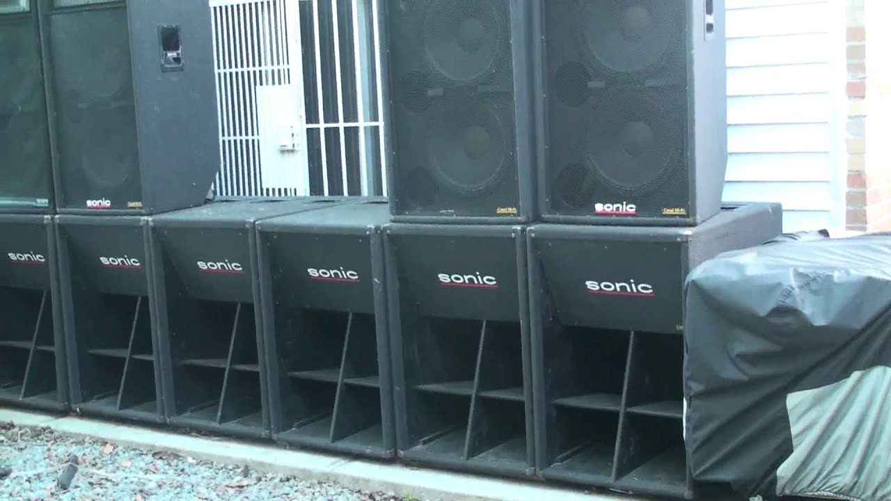 Horn Loaded Subwoofers Youtube