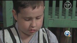 Boy with brain cancer gets final wish