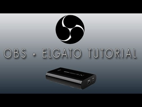 How To: Livestream Using OBS And An Elgato Game Capture HD (Twitch.tv)