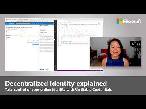 Verifiable Credentials Using Blockchain | Ignite 2020