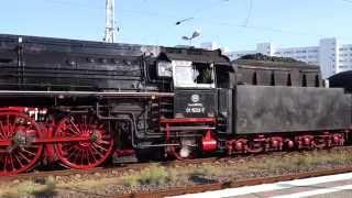 """Dampfzugreise """"Mit Volldampf durch Deutschland"""", Abfahrt Berlin, Neustrelitz,"""