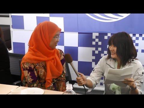 【静大留学生トーク】Muthia Hulwun Bakhsinさん(インドネシア)