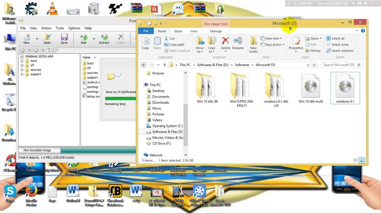 Create Image File (iso File) Windows 10 - 2017