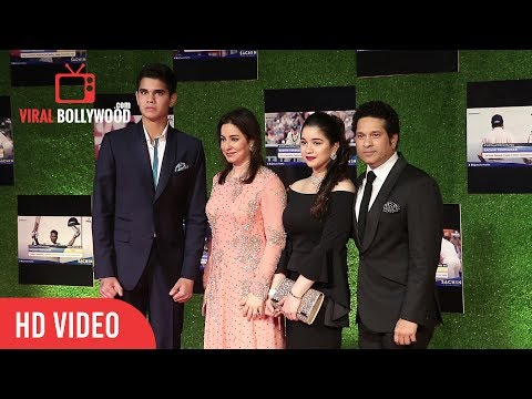 Sachin Tendulkar, Anjali Tendulkar, Sara & Arjun Tendulkar at Sachin A Billion Dreams Grand Premiere