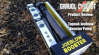 review of the topeak joeblow booster pump is it a replacement for the air compressor