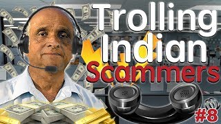 Trolling Indian Scammers And They Get Angry! #8 - (Microsoft, IRS, and Government Grant)