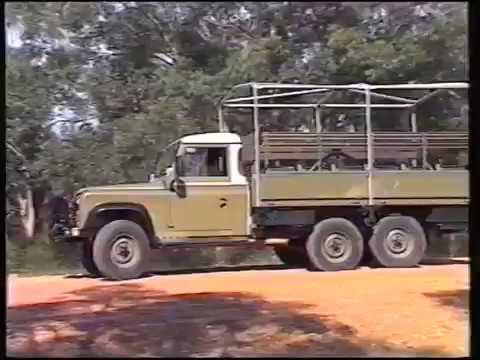 Land Rover Australia Perentie Video