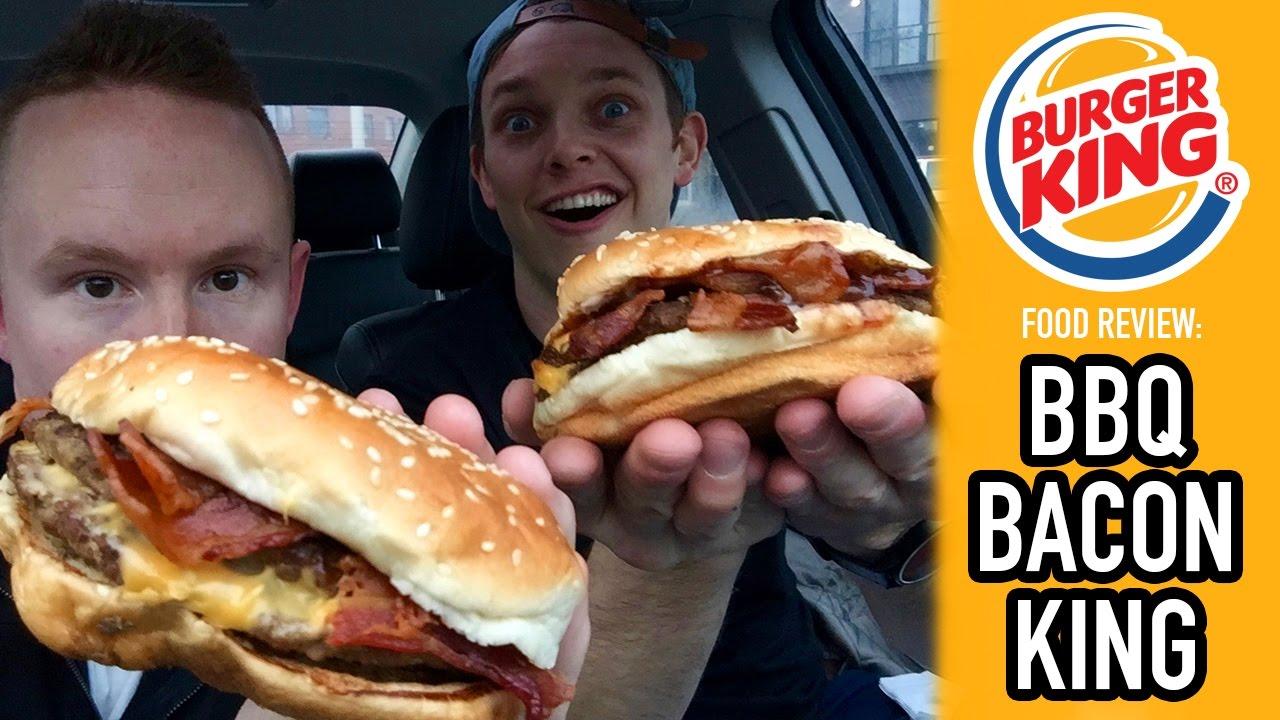 Burger Kings BBQ Bacon King Food Review