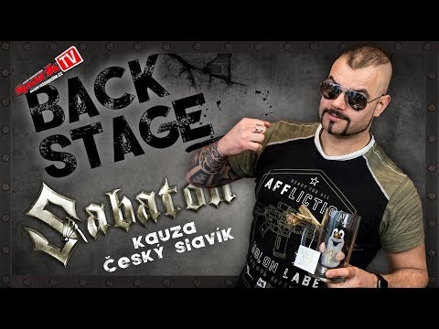 SABATON - Český slavík - Joakim and Pragokoncert statement
