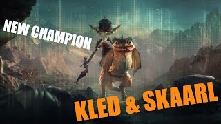 NEW CHAMPION | KLED & SKAARL | CINEMATIC League of Legends