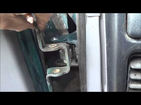 Ford E Series Van Rear Door Hinge Pin Removal And Insta