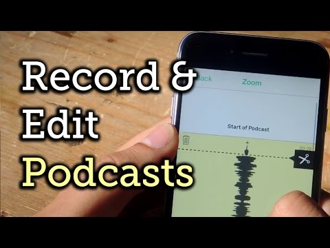 Record Your Own Podcasts for Free with Just Your iPhone [How-To]