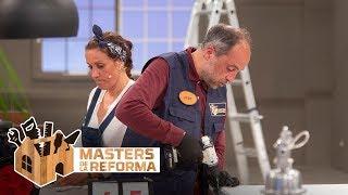 José e Iratxe se rinden al no saber montar un mueble | Masters de la reforma
