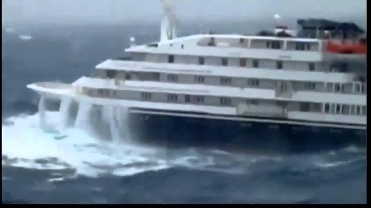 Antarctic Cruise Ship Tossed By Massive Waves YouTube - Antartica cruise ship