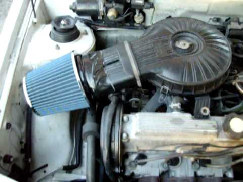 Metro Auto Parts >> NEW MASS FLOW AIR CLEANER ON MY 94 GEO METRO - YouTube