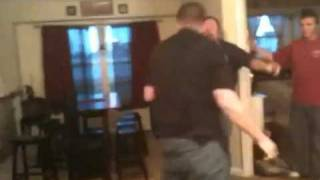 father and son brawl