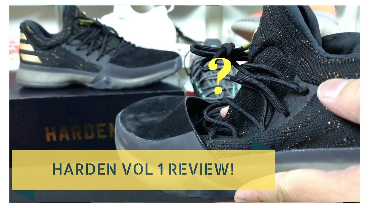 489bb02cd220 WORTH BUYING  ADIDAS HARDEN VOL 1 HONEST REVIEW + ON FEET - YouTube