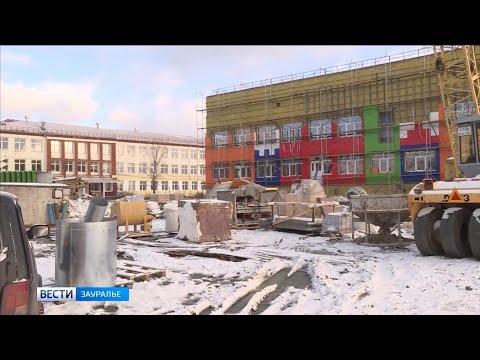 В городе Макушино срок сдачи нового детского сада задерживают