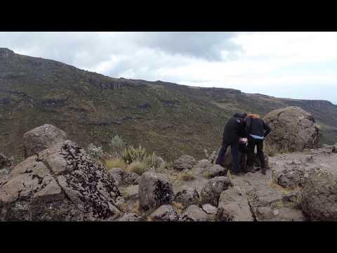 Mount Kenya Trekking - YHA Kenya Travel Mountain Adventures