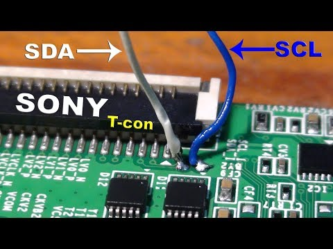 How to add another panel on Sony Bravia LCD TV.