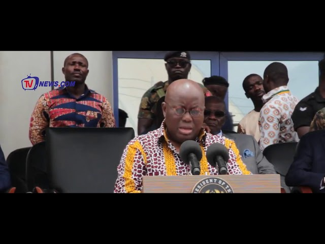 NANA ADDO FULFILLS ANOTHER CAMPAIGN PROMISE, INAUGURATES NEW GHANA CARD
