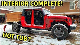 Rebuilding A Wrecked 2020 Jeep Gladiator Rubicon Part 8
