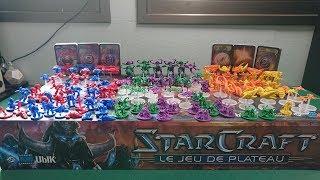 [DofC-22] Розпакування нового французького видання раритетної настільної гри StarCraft Boardgame
