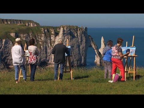 A Natural Wonder: France's White Cliffs Of Étretat
