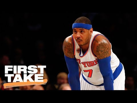 Carmelo Anthony Is 'Done' With New York Knicks | First Take | July 12, 2017