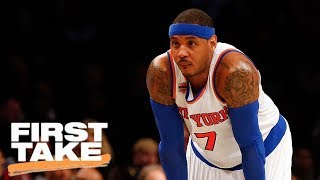 Carmelo Anthony Is 'Done' With New York Knicks   First Take   July 12, 2017