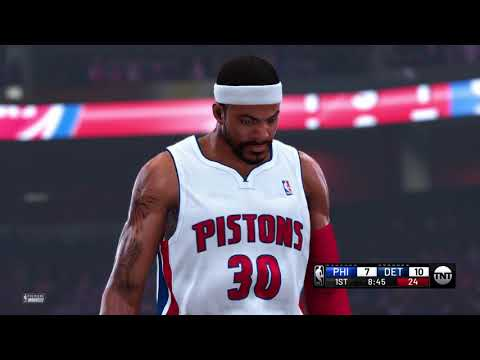 How Rasheed Wallace And Charles Barkley Play In NBA 2k20?Let's Check It Out!