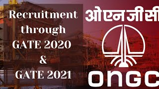 ONGC Recruitment 2021 ONGC GTs recruitment in Engineering and Geo Sciences ONGC Chemist recruitment